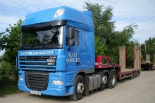 Low Loaders available to hire from Carl Wright Haulage & Plant Ltd